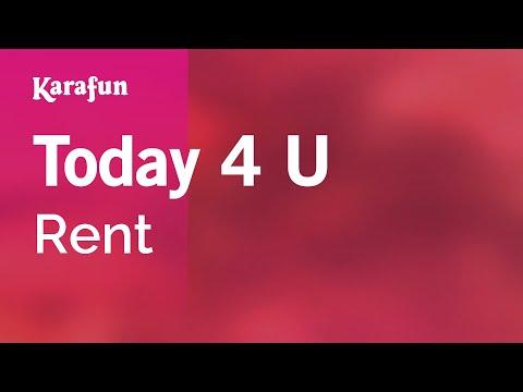 Karaoke Today 4 U - Rent *