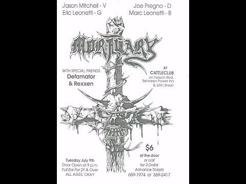 Mortuary -  Finally demo (1991, Cameron Park, CA)