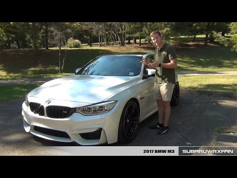Review: 500+HP 2017 BMW M3