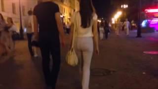 Реальное знакомство с девушкой на улице