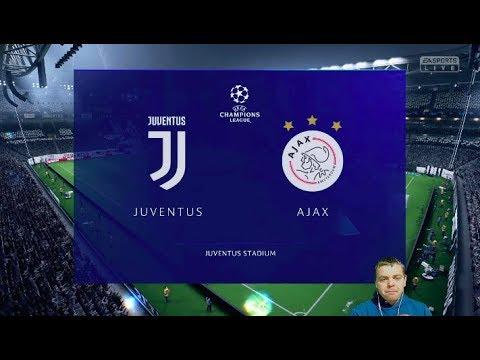 видео: Фифа Прогноз! Ювентус vs Аякс - 1/4 Лига Чемпионов  2018/2019!  + Ставка!