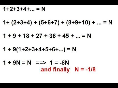 Формула гаусса сумма натуральных чисел