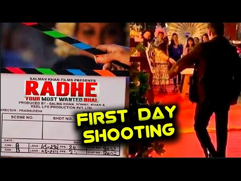 RADHE First Look | Salman Khan ENTRY Scene In Radhe Movie First Day Shooting Mp3