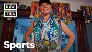 Woman Beats Brain Cancer, Runs More Than 200 Marathons | NowThis