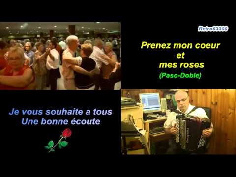 Prenez mon coeur et mes roses