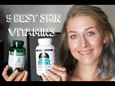 5 Best Vitamins For Beautiful Skin