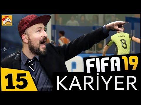FIFA 19 KARİYER #15 Fırtına Öncesi Sessizlik