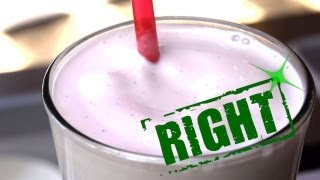 Ice Cream Smoothie - How to Make the Ultimate Thick, Creamy Milk Shake - You're Doing It All Wrong