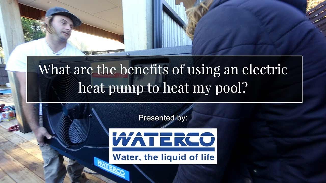 Swimming Pool Heat Pumps - From Waterco | Paramount Pools on