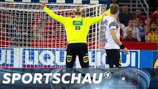 Handball-EM: Deutschland gegen Mazedonien - die Top-Szenen | Sportschau