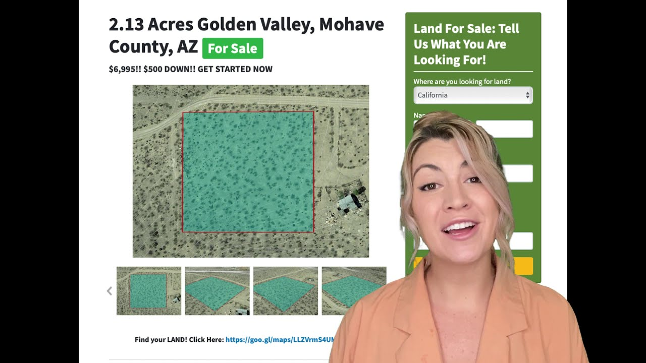 2.13 Acres Golden Valley Property in Mohave County, AZ