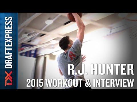 RJ Hunter 2015 NBA Draft Workout Video