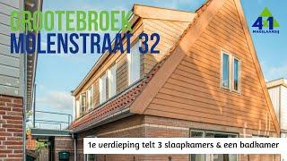 Vrijstaand wonen in Grootebroek aan de Molenstraat 32 Te Koop bij 4x1 Makelaardij
