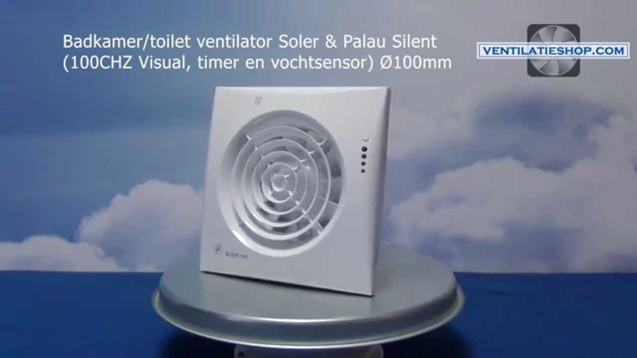 Afzuiging Badkamer Sp : Badkamer toilet ventilator soler palau silent chz visual