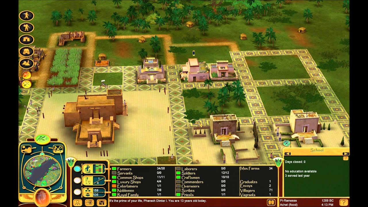Immortal Cities: Children of the Nile ep. 18 - YouTube