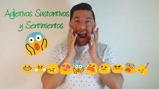 Sustantivos, adjetivos, sentimientos y estados de ánimo en LSM