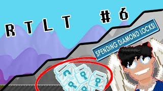 Growtopia | ROAD TO LEGENDARY TITLE #6! (SPENDING DLS)