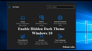 Windows 10 Tips And Tricks: Enable Windows 10's Hidden Dark Theme