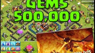 [NEW UPDATE] See MAX LEVEL 5 Dragon Attack Clash of Clans! BONUS 500,000 GIVEAWAY GEMS!