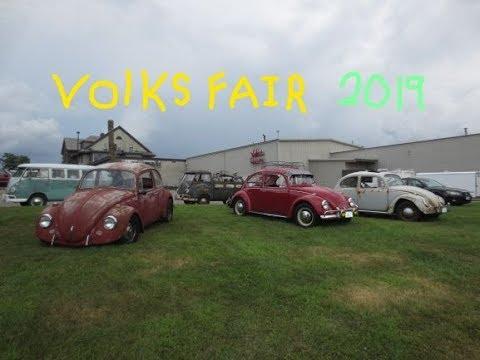 Volks Fair 2019, Volkswagen Show, Shrewsbury MA