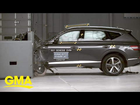 SUV crash test video may provide answers in Tiger Woods wreck l GMA