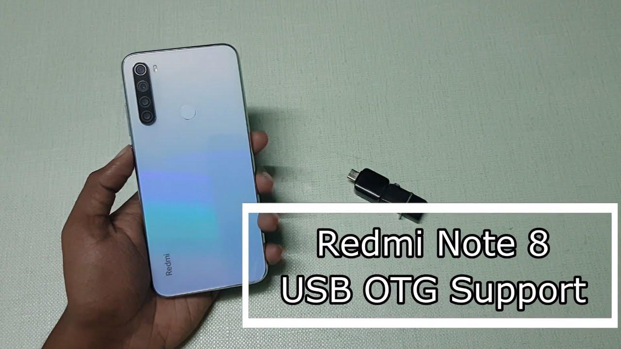 Redmi Note 8 USB OTG Support - YouTube