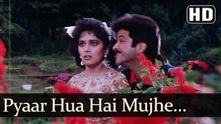 Pyar Hua Hai Mujhe - Anil Kapoor - Madhuri Dixit - Jamai Raja Bollywood Songs