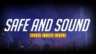 Seguro y sonido [Taylor Swift ft Civil Wars] - Cubierta de piano Roblox