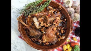 How To Make a Cassoulet - Southern France  Bean Stew | Classic French Recipes