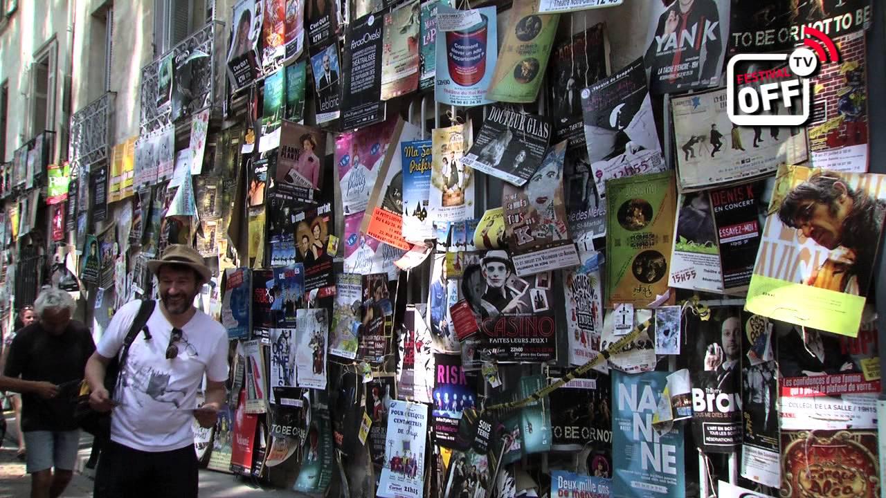 festival avignon rue
