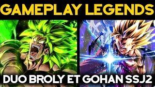 DB LEGENDS - Gohan SSJ2 viable dans la team Broly PPR ?