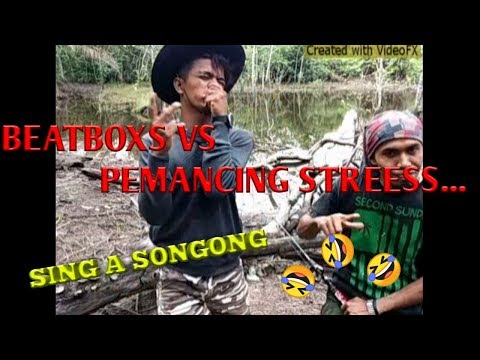 BEATBOXS VS ANGLERS STREESS..//AUTO GILAA...//SING A SONGONG..WKWKWK