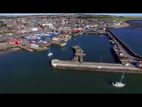 Arbroath Drone 2nd October 2016