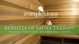 Sauna Therapy at Complexions Spa