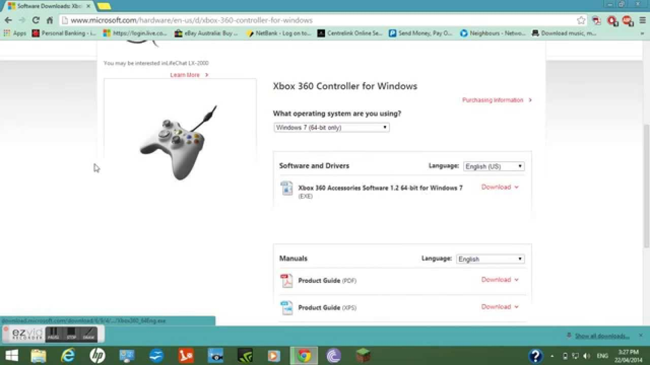 how to connect xbox 360 to pc windows 8