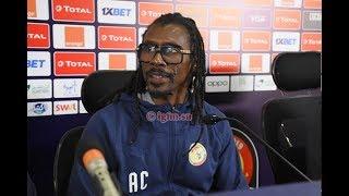 """CAN 2019-Aliou Cissé : """"nous n'avons aucune pression face à l'Algérie"""""""