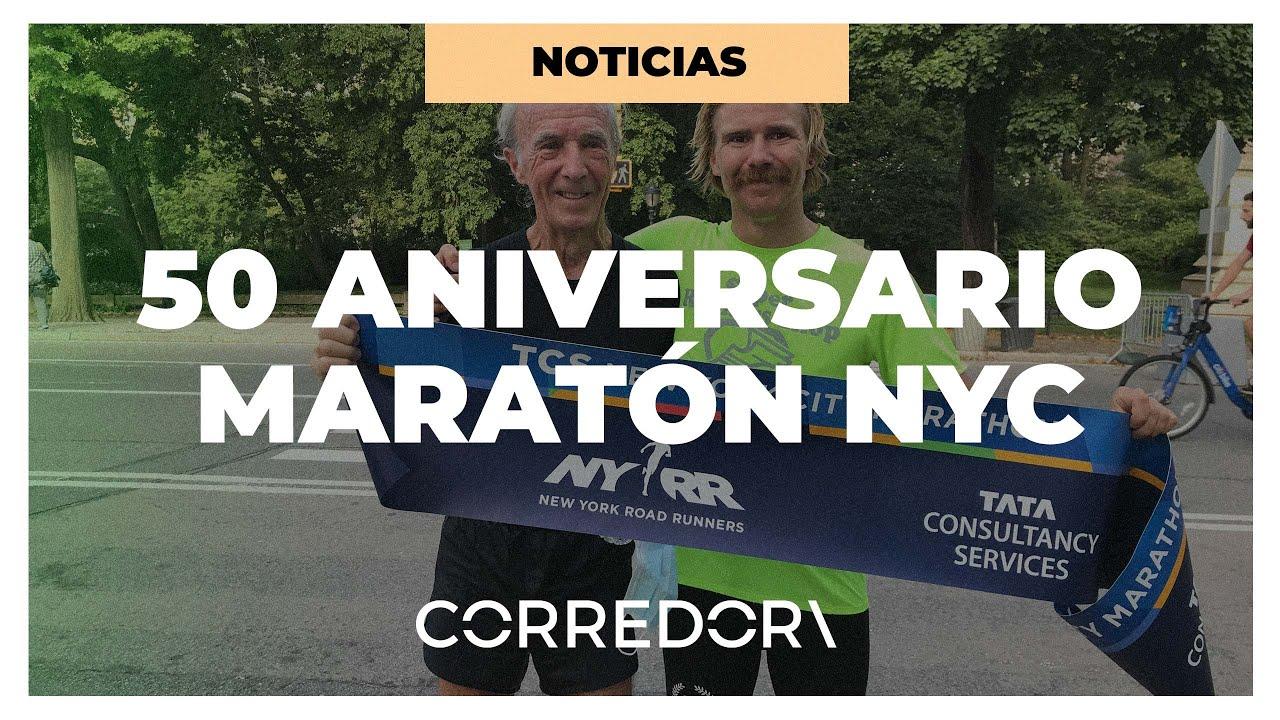 Gary Muhrcke conmemora el 50 aniversario del Maratón de Nueva York | CORREDOR