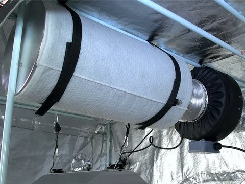 Inline Duct Fans And Filters By Virtual Sun Hydroponics