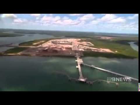 Adrenaline Journal INPEX TOUR   Nine News got a tour of the multi billion dollar gas project HD