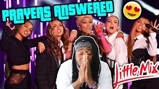LITTLE MIX - WOMAN LIKE ME FT. NICKI MINAJ (LIVE EMA PERFORMANCE) |REACTION|