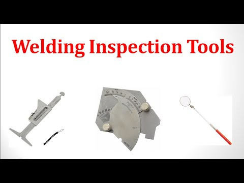Welding Inspection Tools Weld Profile Gauge Fillet