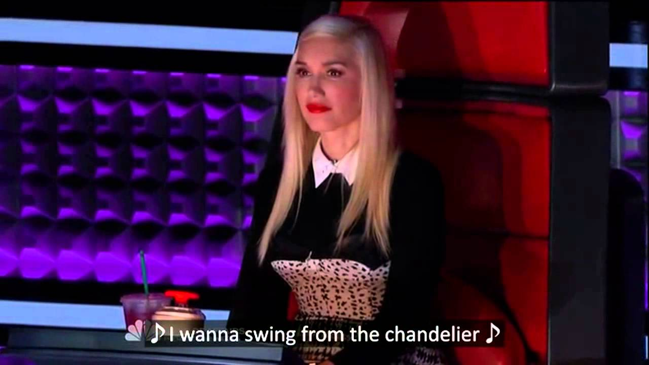 Engsub] Chandelier - Jean Kelley (The Voice US performance) - YouTube