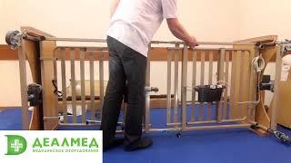 Обзор и сборка ортопедической кровати для лежачих больных электрической Vermeiren LUNA