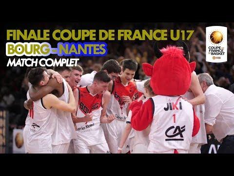 Finale U17 masculins 2018 | JL Bourg - Nantes Basket Hermine