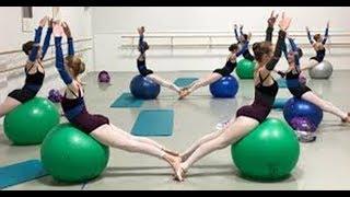 Kindergarten Kids Dancing For Rhythms \ Dancing Ball Game \\ + Baby Songs Games
