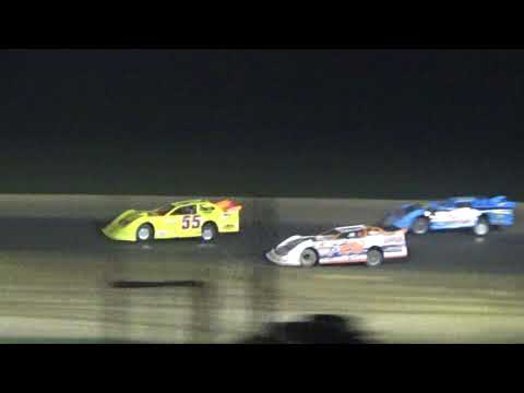 Late Model Feature Race at Crystal Motor Speedway, Michigan on 09-03-2017!!