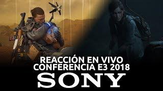 Conferencia Sony - Reacción en Vivo, E3 2018 | 3GB