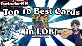Top 10 Best Cards in Legend of Blue Eyes White Dragon!