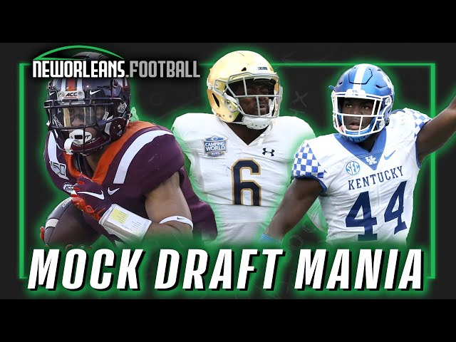 Mock draft mania | NewOrleans.Football