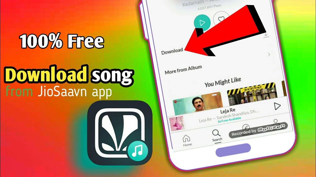 How to Download songs in JioSaavn app Free   You R Technical
